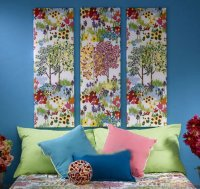 Quick & Easy Fabric Wall Art Home Decor Ideas DIY Ready
