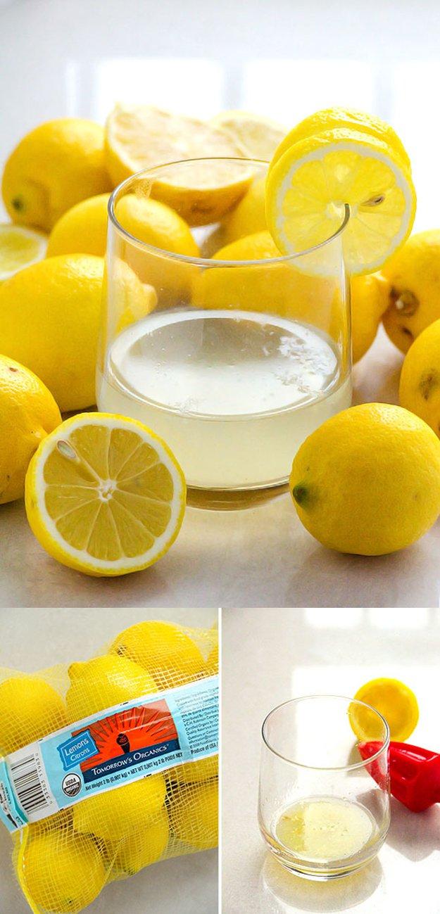 Simple Detox Water Recipe | http://diyready.com/diy-recipes-detox-waters/