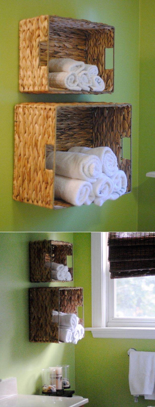 15 Minute DIY Bathroom Organization Ideas DIY Ready