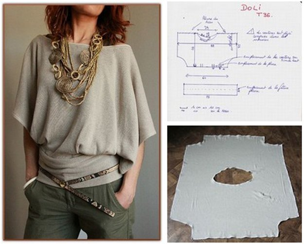 Hot DIY Blouse Design | diyready.com/diy-clothes-sewing-blouses-tutorial/