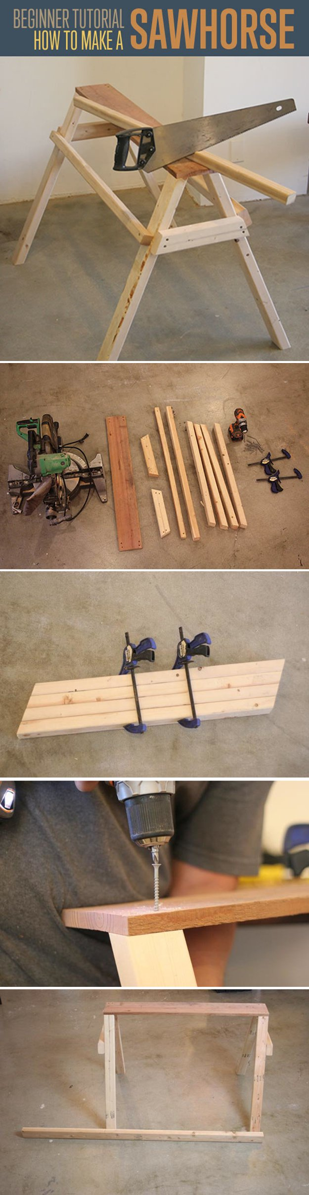 ... Projects for Beginners | http://diyready.com/easy-woodworking-projects