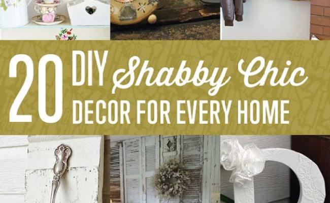 20 Diy Shabby Chic Decor Ideas Diy Ready