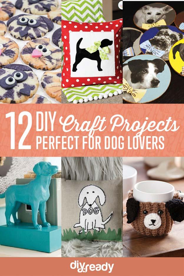 12 DIY Crafts for Dog Lovers DIY Ready
