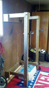 9 DIY Squat Rack Ideas DIY Ready