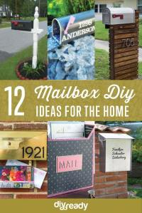 12 Creative DIY Mailboxes To Brighten Your Home