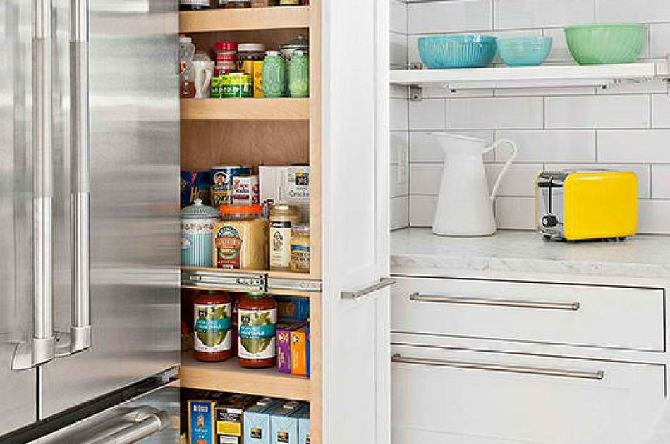How To Build A Pantry Shelf In Your Small Kitchen