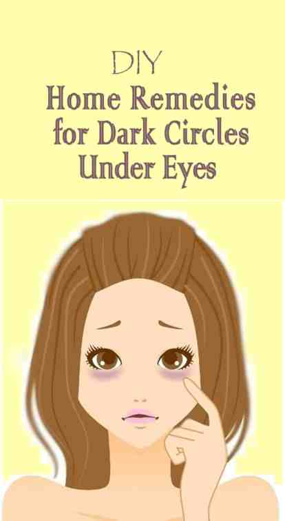 Get Rid of Dark Circles Under Your Eyes
