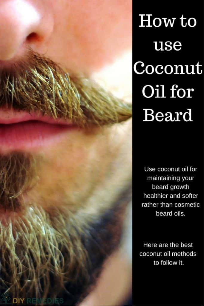 How To Apply Coconut Oil To Your Beard
