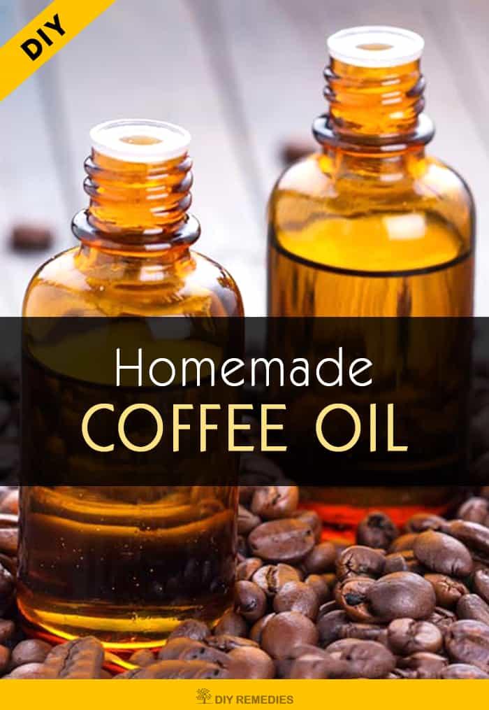 DIY Homemade Coffee Oil
