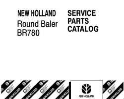 NEW HOLLAND BALERS BR780 Manuals: Operator Manual, Service