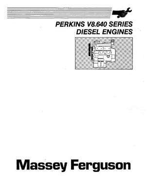 Massey Ferguson Perkins V8.640 Series Diesel Engines