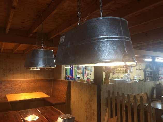 cheap kitchen island ideas islands with granite top 14 genius ways to repurpose galvanized buckets and tubs