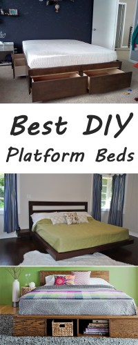 10 Best DIY Platform Beds