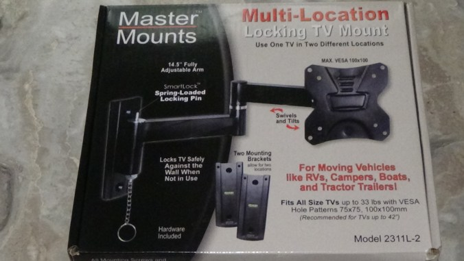 Mounting A Tv In The Our Travel Trailer Diy Tips Tricks For Rv