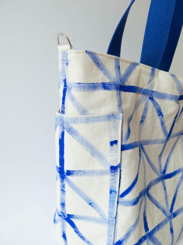 Neue Nhanleitung Mittelgroe Tasche  New Pattern midsize tote bag  DIY Sewing Academy
