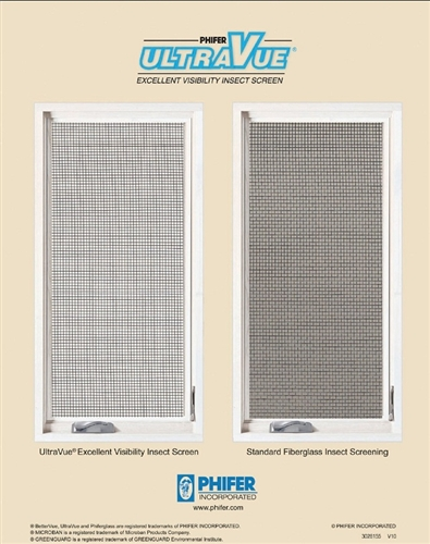Phifer UltraVue Screen Mesh (by ft.)
