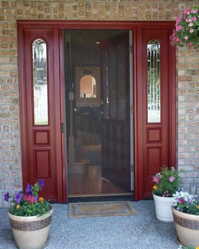 Standard Single Retractable Screen Door