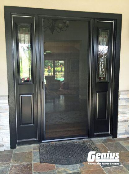 Custom Retractable Screen Door
