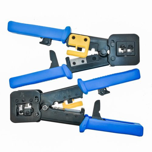 small resolution of ez rj45 crimping tool end pass through crimm cutter cat6 cat5