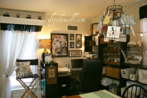 Vintage Inspired Craft Room RevealDIY Show
