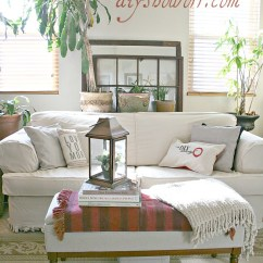 Living Room Slipcovers Contemporary Tv Unit Designs For Comfort Works Custom Sofa Slipcover Review - Diy Show Off ...