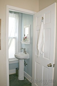 DIY Project Parade and Half Bathroom before and after ...