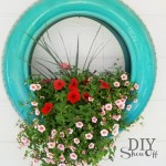 Diy Tire Planter Tutorialdiy Show Off Diy Decorating And Home Improvement Blog