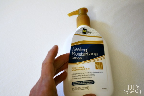 lotion bottle decal tutorial