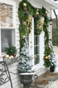 Decorating French Doors for Christmas - Part 1 - DIY Show ...