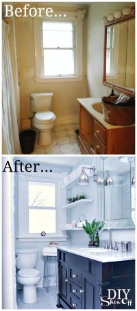 Bathroom Before and After - DIY Show Off  - DIY ...