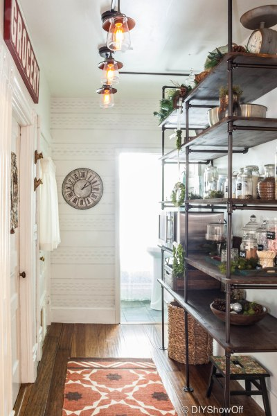 Pantry makeover - paint color
