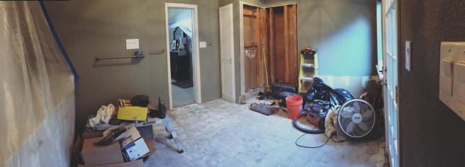 Bathroom in progress 3