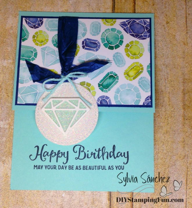 Oh So Eclectic bundle - Fancy Fold card