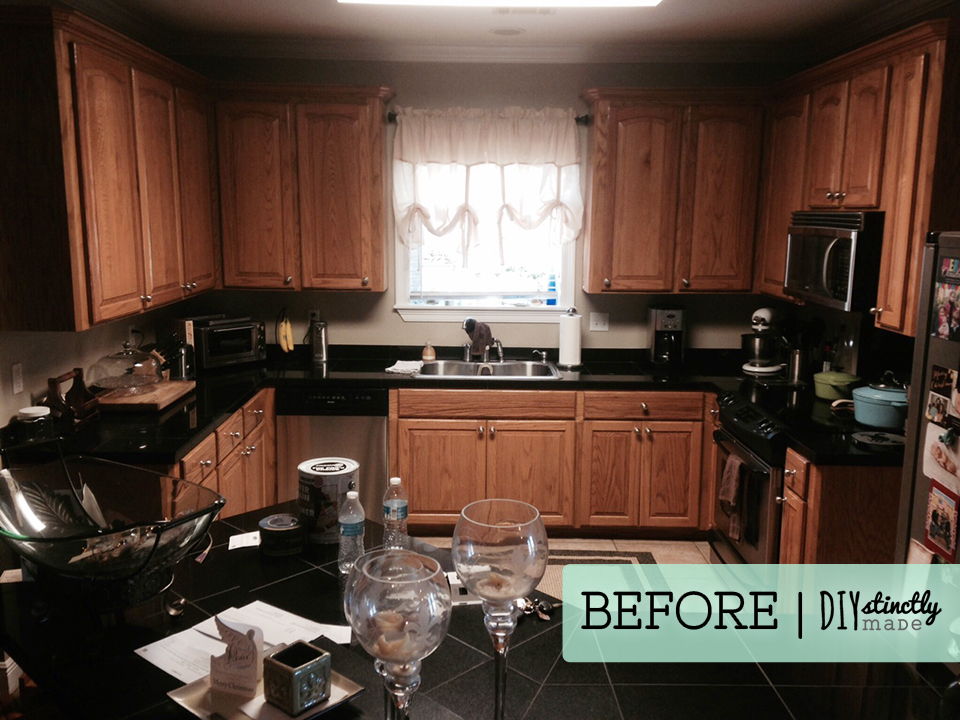 Painted Kitchen Cabinets – DIYstinctly Made
