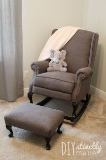 Pottery Barn Wingback Rocking Chair