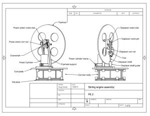 Stirling engine plans, Resources, DIY Stirling engine