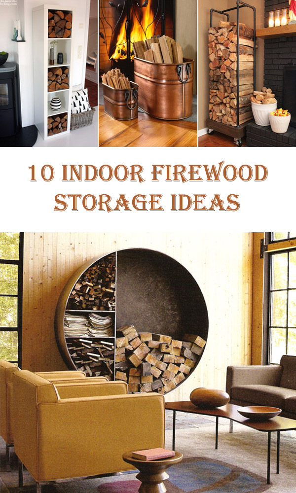 living room firewood holder design ideas for very small rooms 10 indoor storage diys to do