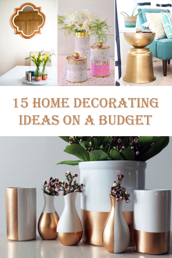 15 Diy Home Decorating Ideas On A Budget  Diys To Do