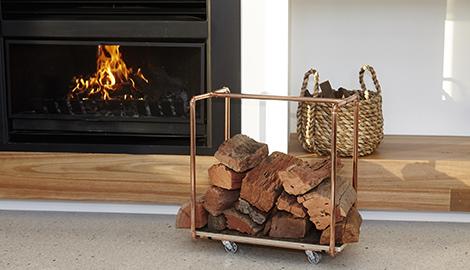 Indoor Wood Storage Ideas