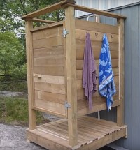 7 DIY Outdoor Shower Ideas  Diys To Do