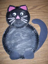 Kedi Kağıt Tabağı