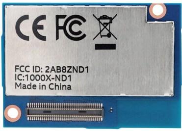 Intel Edison 1GB (back)