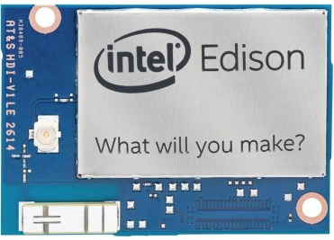 Intel Edison 1GB (front)