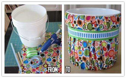 How to make DIY trash can makeover  DIY Tag