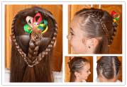 diy cute hairstyle little girl