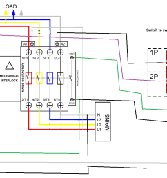 automatic transfer switch with selector switch [ 1706 x 847 Pixel ]