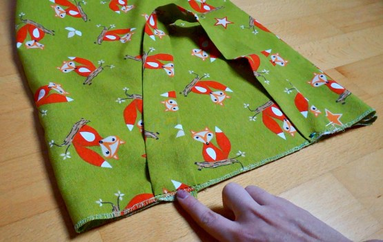 DIY fox tote straps