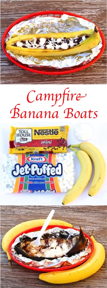 Campfire Banana Boats Recipe