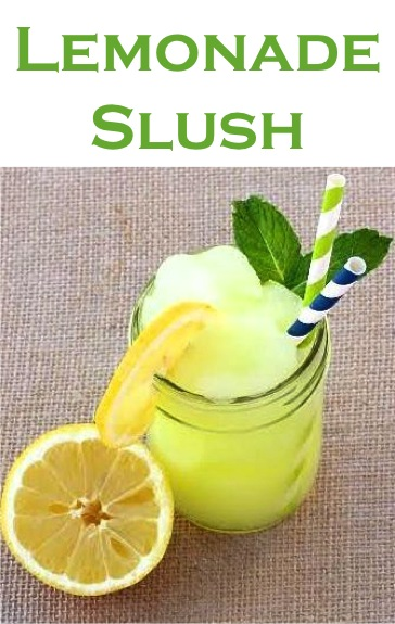 Lemonade Slush Recipe Finished