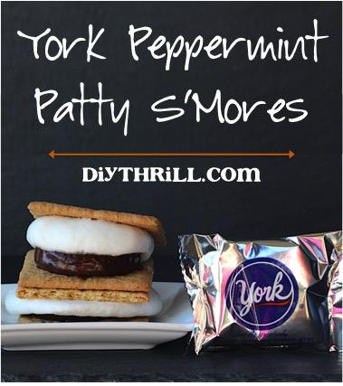 Peppermint Pattie S'Mores Recipe at DIYThrill.com
